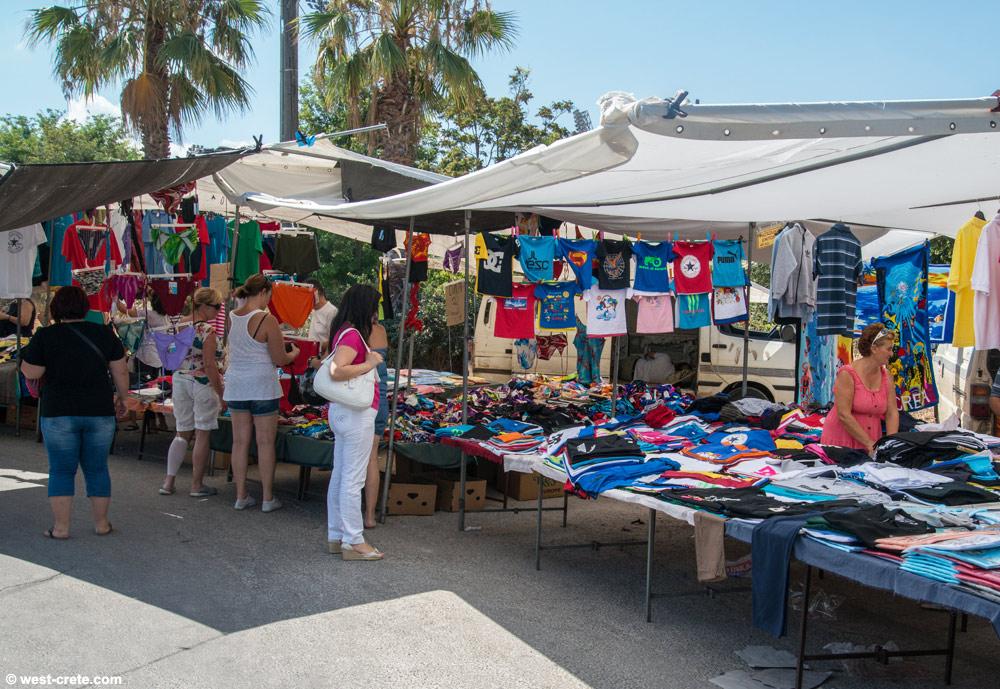 Street markets of Chania